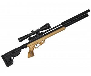 Пневматическая винтовка Jaeger SPR Тактик W (PCP, редуктор, ствол AP450, чок) 5,5 мм