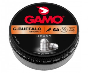 Пули Gamo G-Buffalo 4,5 мм, 1,0 грамм, 200 штук