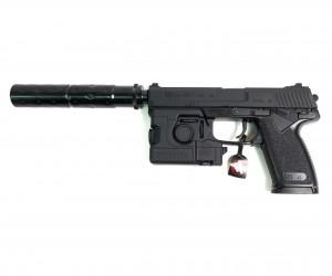 Страйкбольный пистолет Tokyo Marui SOCOM Mk.23 GNB (модератор, фонарь)