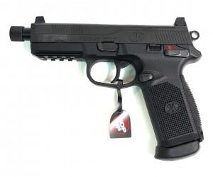 Страйкбольный пистолет Tokyo Marui FNX-45 Tactical GBB Black