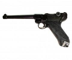  Уценка  Макет пистолет Люгер Парабеллум P08 (Германия, 1898 г.) DE-1144 (№ D7/1144-152-уц)