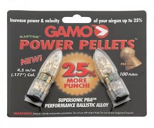 Пули Gamo Raptor 4,5 мм, 0,35 грамм, 100 штук