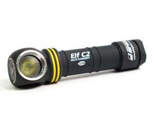 Фонарь налобный Armytek Elf C2 Micro-USB, 1050 люмен (белый свет) + 18650 Li-Ion