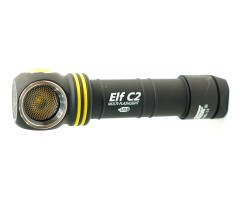 Фонарь налобный Armytek Elf C2 Micro-USB, 980 люмен XP-L (теплый свет) + 18650 Li-Ion