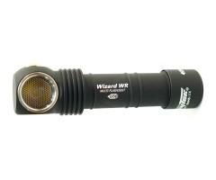 Фонарь налобный Armytek Wizard WR Magnet USB+18650 (красный-белый, 1300 лм)