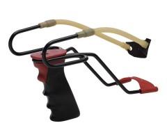 Рогатка Stil Crin металлическая лакированная с упором (мод. Sporting) (315B)