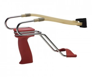 Рогатка Stil Crin металлическая хромированная с упором (мод. Frombola T2) (317)