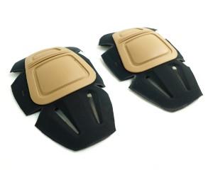 Вставные наколенники EmersonGear G3 Combat Knee Pads Tan