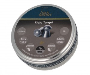 Пули H&N Field Target 5,5 мм, 1,06 грамм, 200 штук