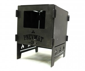Печь разборная Pnevmat24 + сумка (сталь 3 мм)