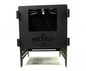 Печь разборная Pnevmat24 Большая + сумка (сталь 3 мм)