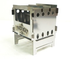 Печь-щепочница Pnevmat24 + сумка (нерж. сталь 1,5 мм)