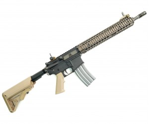 Страйкбольный автомат VFC Colt M4A1 RIS II AEG FDE