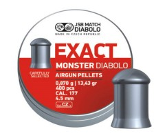 Пули JSB Exact Monster Diabolo 4,5 мм, 0,87 грамм, 400 штук
