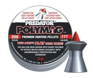 Пули JSB Predator Polymag 4,5 мм, 0,52 грамма, 200 штук