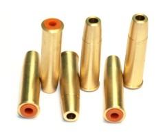 Латунные картриджи для револьверов Borner, Gletcher (6 штук)