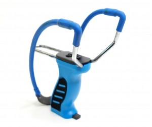 Рогатка Centershot 19B28 (синяя, магазин, регул. ручка)