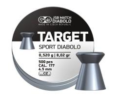 Пули JSB Target Sport Diabolo 4,5 мм, 0,52 грамм, 500 штук
