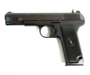 Охолощенный СХП пистолет Tokarev-СО Kurs (Zastava M57) 7,62x25