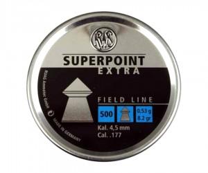 Пули RWS Superpoint Extra 4,5 мм, 0,53 грамм, 500 штук