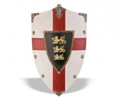 Щит Ричарда «Львиное сердце» геральдический большой (AG-872)