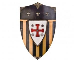 Щит рыцарей Ордена Тамплиеров геральдический большой (AG-875)