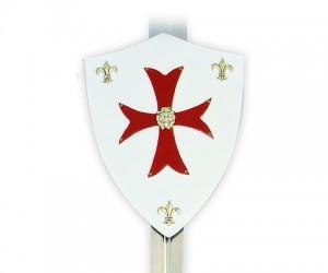 Щит Крестоносцев геральдический малый (AG-880)