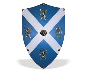 Щит «Святого Андрея, Шотландия» геральдический большой (AG-879)