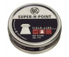 Пули RWS Super-H-Point 4,5 мм, 0,45 грамм, 500 штук