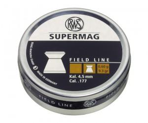 Пули RWS Supermag 4,5 мм, 0,60 грамм, 500 штук