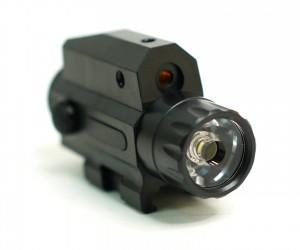 Фонарь подствольный с ЛЦУ, выносная кнопка GREE LED 300LM (BH-FLL02)