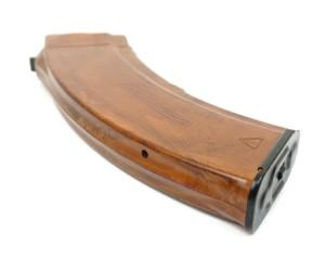 Магазин для АК-103/47/АКМ (7,62 мм) коричневый бакелит, раритет 1-я кат.