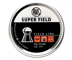 Пули RWS Super Field 4,5 мм, 0,54 грамм, 500 штук