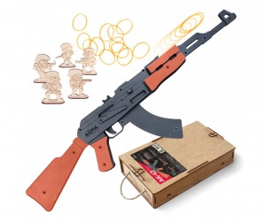 Резинкострел ARMA макет автомата АК-47, окрашенный