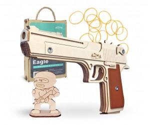 Резинкострел ARMA макет пистолета Deseart Eagle