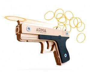 Резинкострел ARMA макет пистолета Glock Light