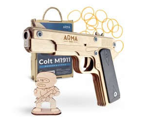 Резинкострел ARMA макет пистолета Colt M1911