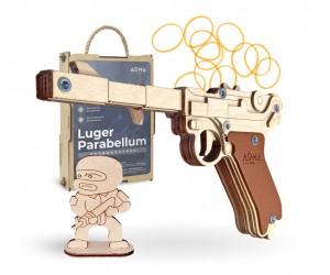 Резинкострел ARMA макет пистолета Luger Parabellum P08