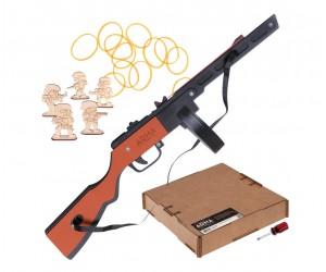 Резинкострел ARMA макет автомата ППШ-41, окрашенный