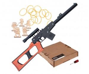 Резинкострел ARMA макет снайперской винтовки ВСС «Винторез», окрашенный