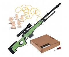 Резинкострел ARMA макет снайперской винтовки AWP из игры CS:GO