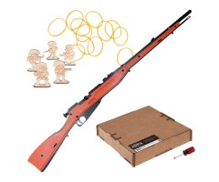Резинкострел ARMA макет винтовки Мосина без прицела