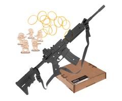 Резинкострел ARMA макет винтовки M4 с выдвижным прикладом