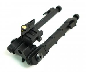 Сошки быстросъемные ACCU-TAC SR5 на Weaver, с качающейся базой, 190-230 мм (BH-BP18)