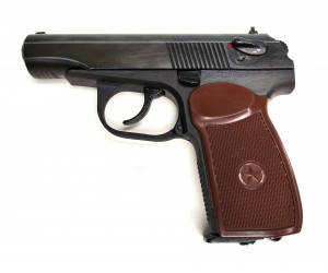 |Уценка| Пневматический пистолет МР-654К-20 Макарова (№ 84188-175-уц)