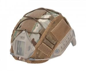 Чехол тактический на шлем WoSport CO-17 Elastic rope Multicam