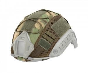 Чехол тактический на шлем WoSport CO-17 Elastic rope Мох