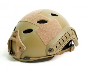 Шлем WoSport Umbrella Helmet - High Version HL-06 PJ-type Round Hole Tan