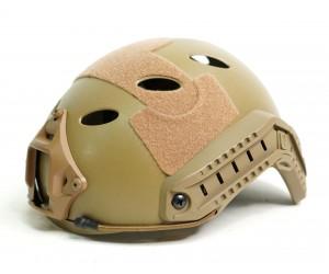 Шлем WoSport Umbrella Helmet - Standart Version HL-09 PJ-type Round Hole Tan