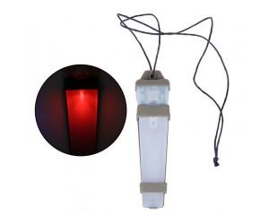 Тактический сигнальный маячок для шлема WoSport HL-ACC-38 Tan Red